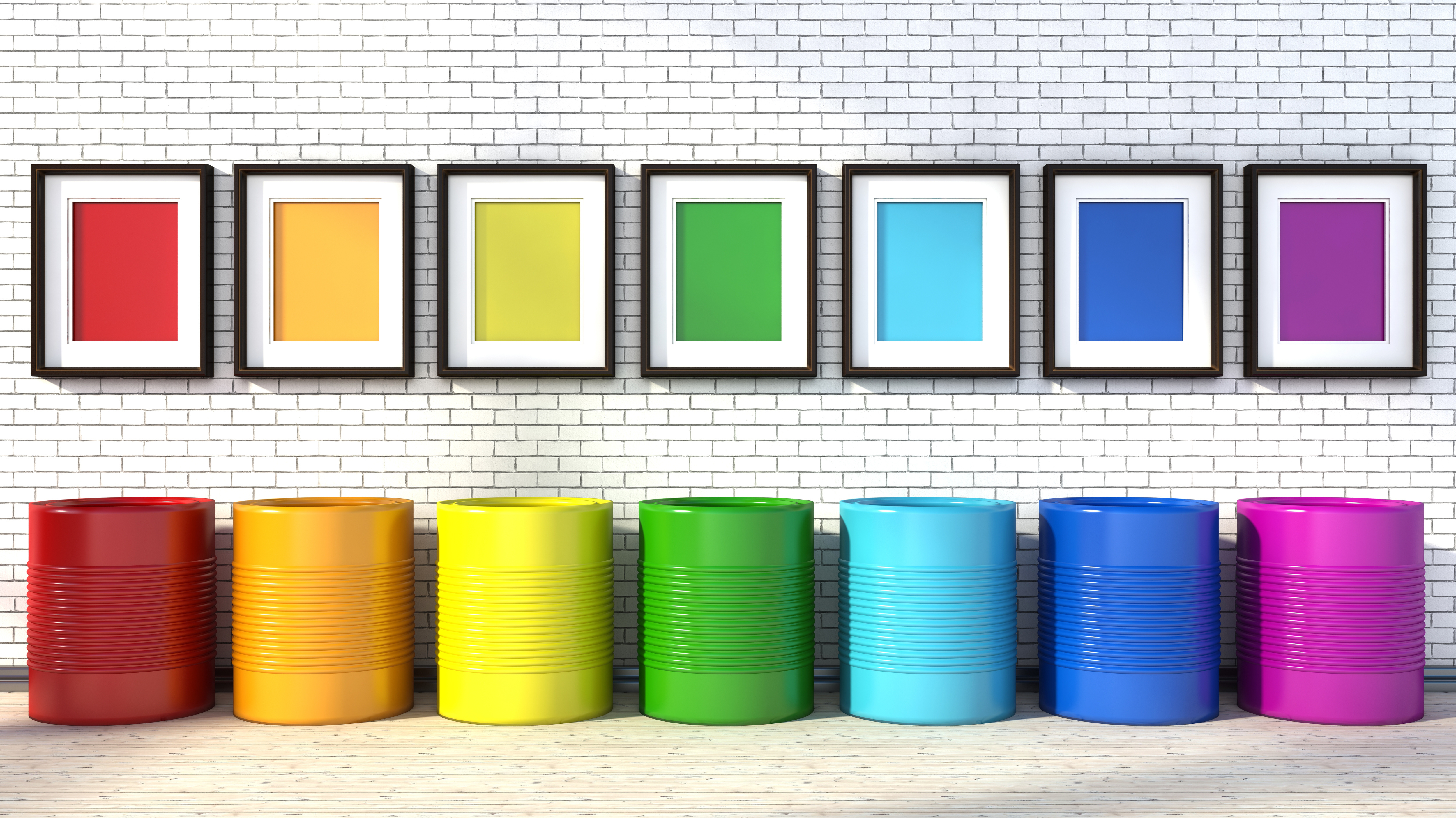 Jak wzbogacić wnętrze domu – farby dekoracyjne