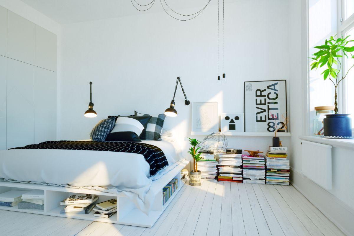 Bezpieczne zestawienie kolorów z sypialni